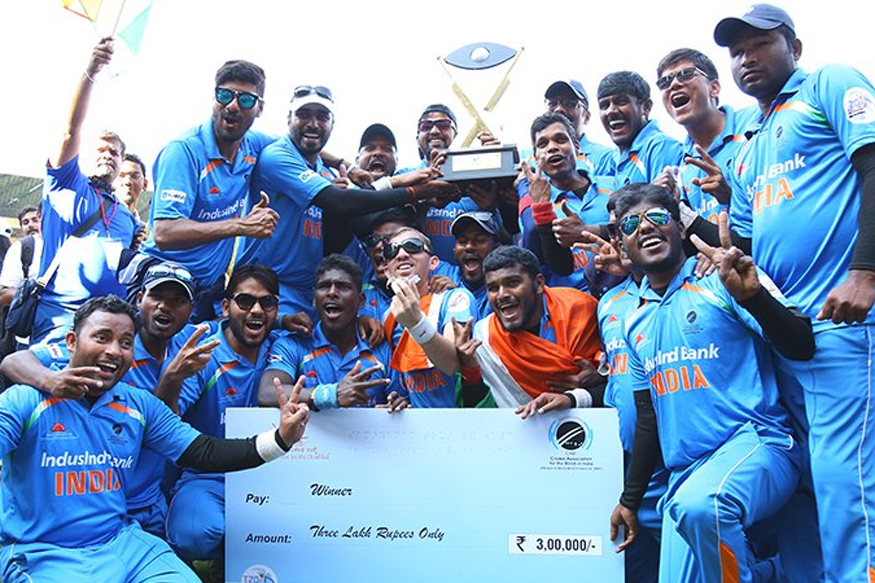 India Thrash Pakistan To Win 2017 Blind World T20