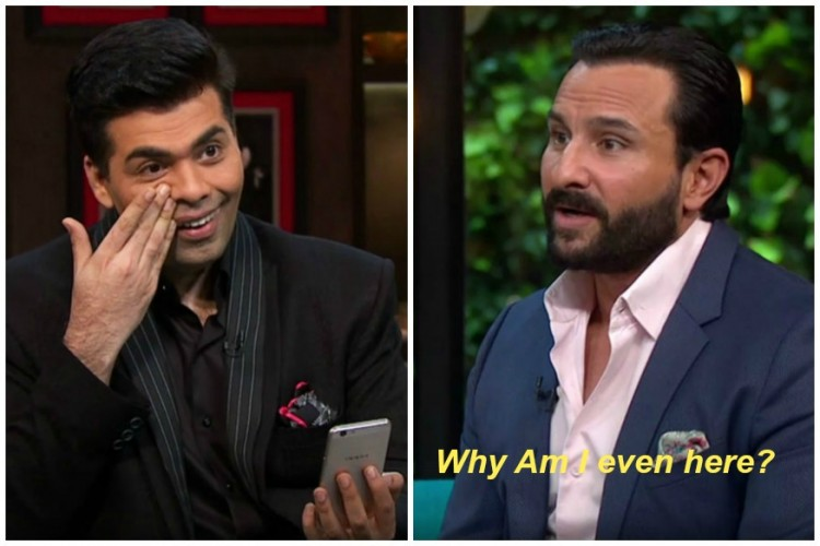 News7 Tamil karan-saif-750x500 Koffee With Karan: Kangana Slays KJo With Brutal, Sincere Solutions Movies  KoffeeWithKangana Kangana