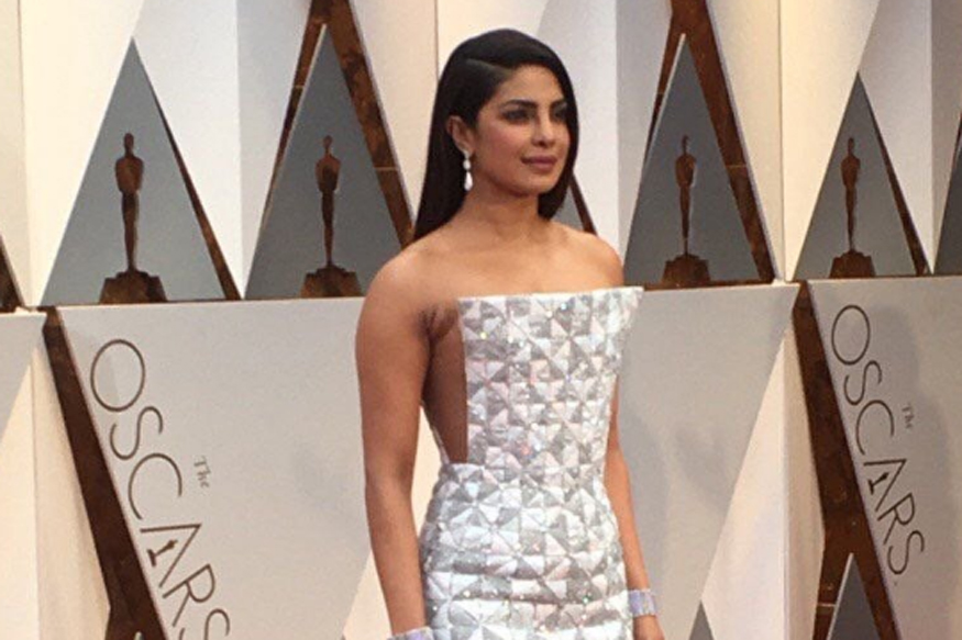 Oscars 2017: Priyanka Chopra Opts for White, Reminds AIB of 'Kaju Katli'
