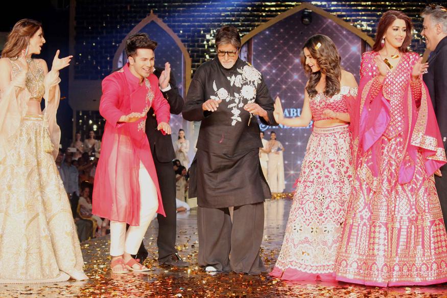 Amitabh Bachchan, Varun Dhawan, Alia Bhatt Walk The Runway for Cancer Patients