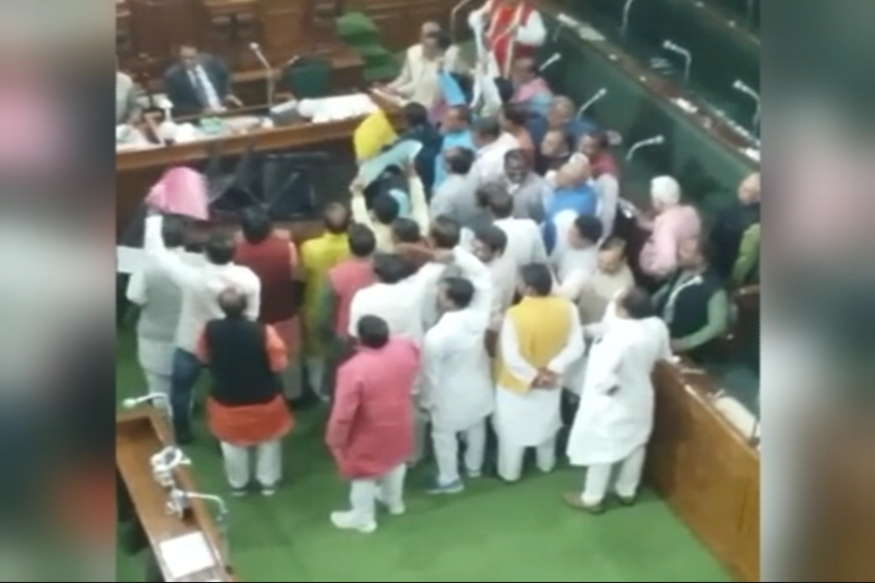 Minister's PM slur triggers uproar in Bihar Assembly