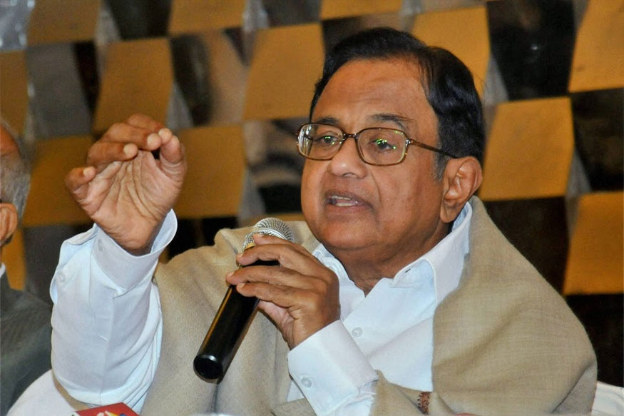 Chidambaram Attacks Government Over 'Unjust' Growth in Gujarat