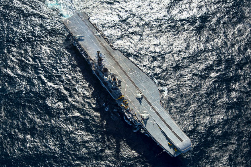 INS Viraat, oldest aircraft carrier to retire today