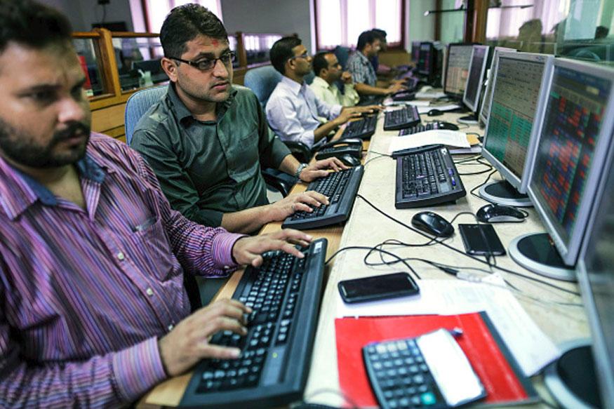 Sensex Trips 97 Points, Nifty Below 9,100 on Global Weakness