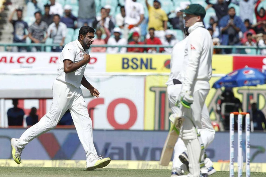 Ravichandran Ashwin claimed 3 wickets. (BCCI Photo)