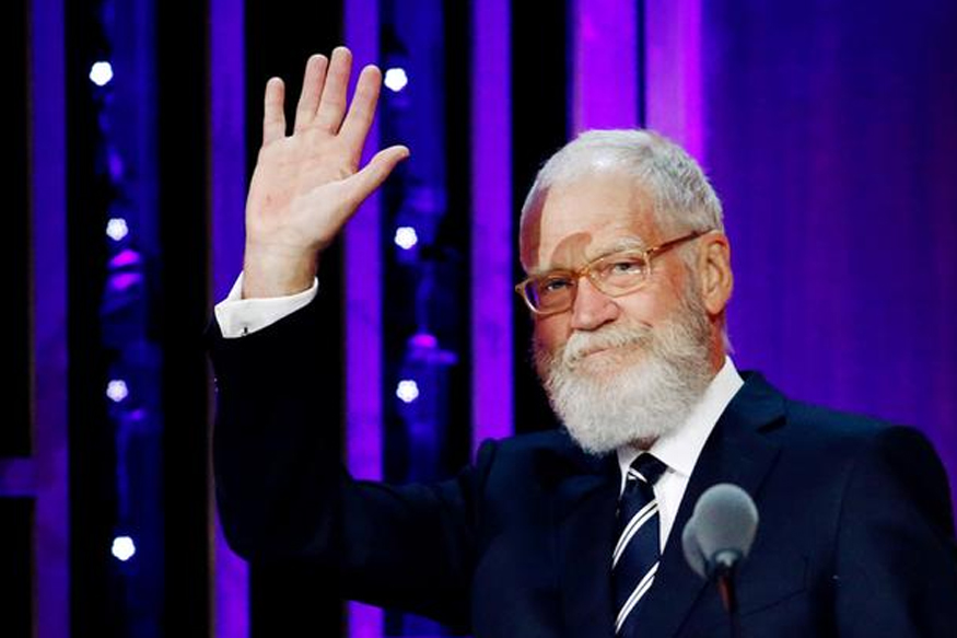 David Letterman Bags Mark Twain Prize For American Humour