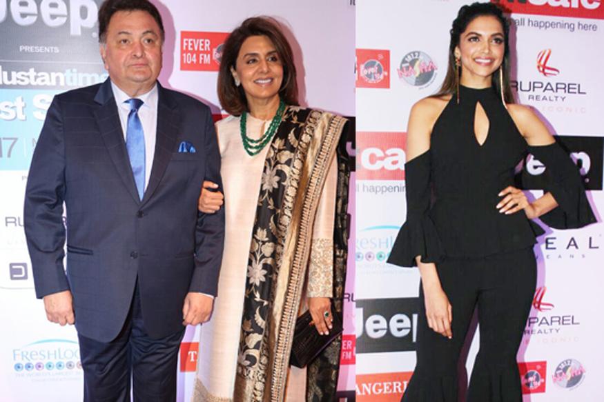 Deepika Padukone Shares Warm Moments With Neetu Singh, Amitabh Bachchan