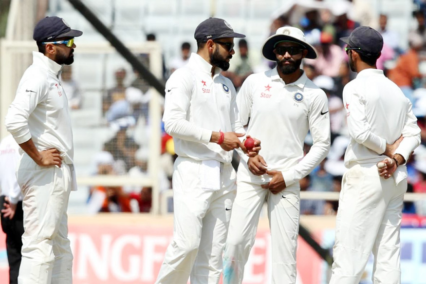 India v Australia: third Test, day five