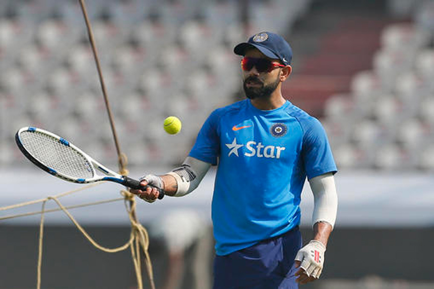 Virat Kohli and Boys Sweat It Out With Focus on Fielding