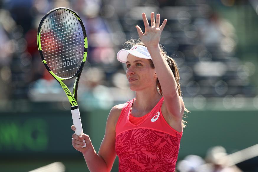 Miami Open: Johanna Konta Into Semis After Simon Halep Battle