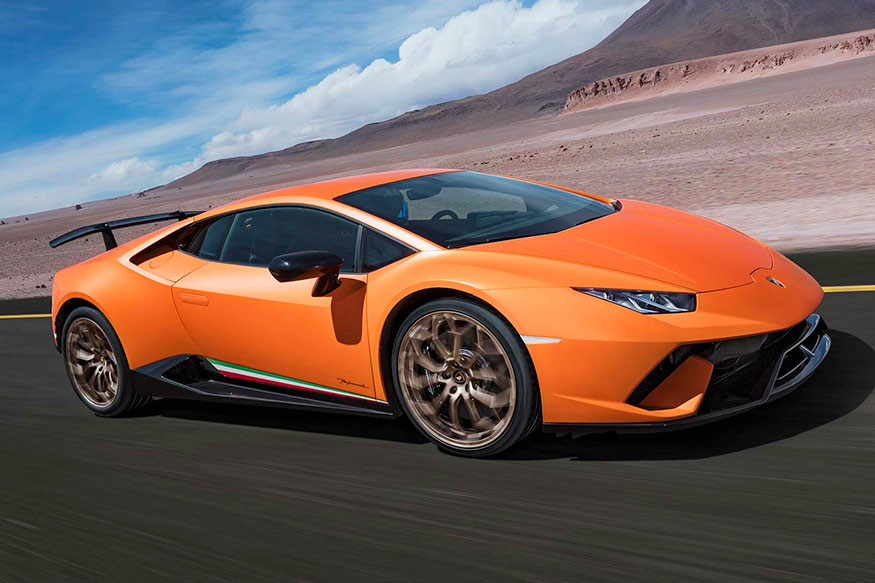 lamborghini huracan performante launched. Black Bedroom Furniture Sets. Home Design Ideas