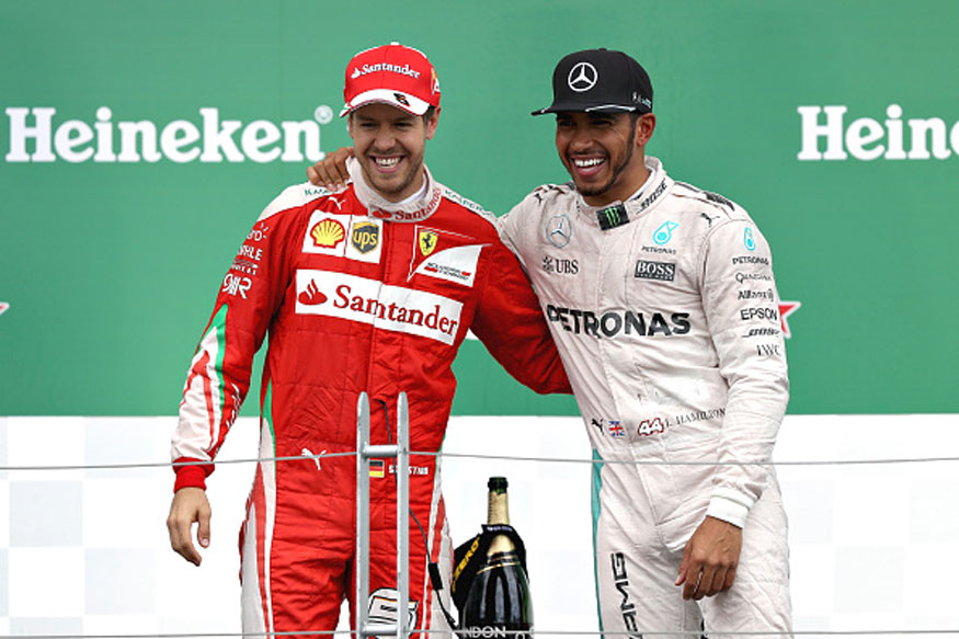 Ferrari Clearly Favouring Sebastian Vettel, Says Lewis Hamilton