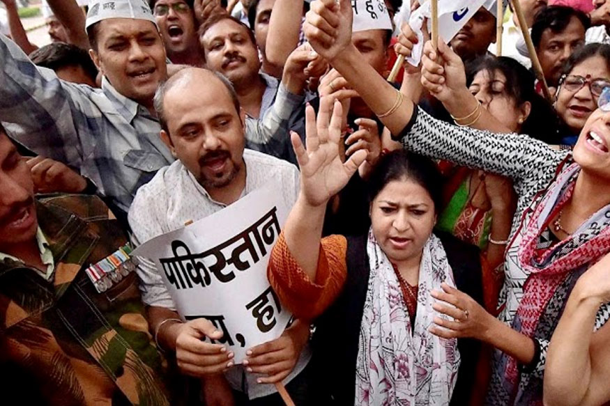AAP's Delhi Unit Convenor Dilip Pandey Resign After MCD Poll Result