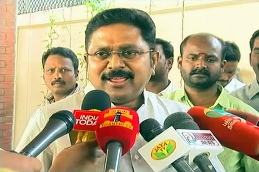 Dinakaran Faction Says He is not Seeking Tamil Nadu CM Post
