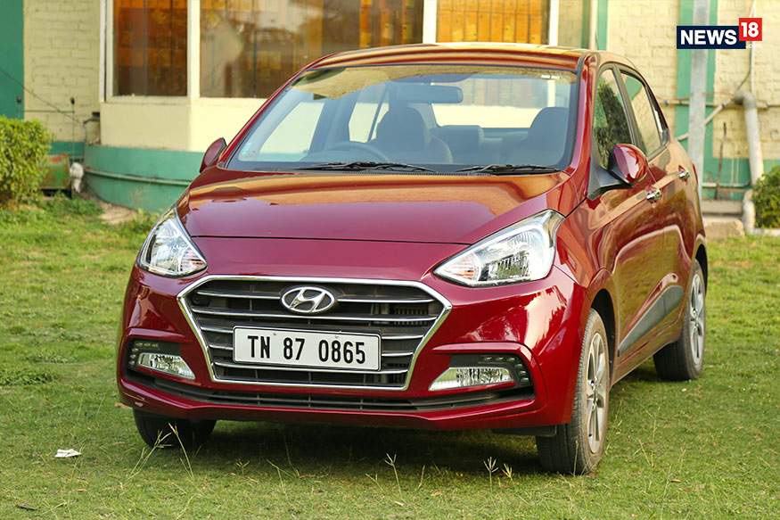 Hyundai Xcent. (Photo: Siddharth Safaya/News18.com)