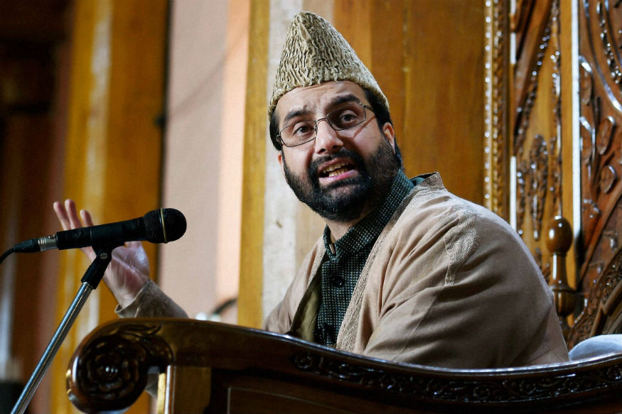 When You Don't Let People Talk, They Throw Stones, Says Mirwaiz