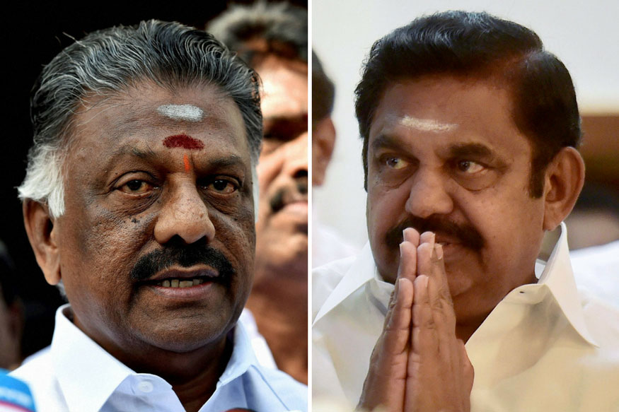 AIADMK Live: Merger of EPS, OPS Camps Likely to Announced at Jaya Memorial