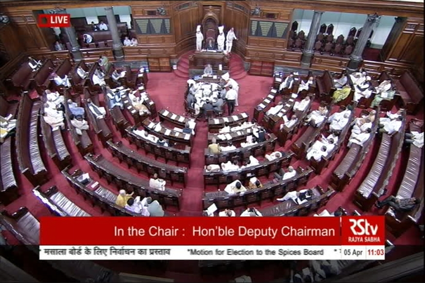 GST bills passed in Rajya Sabha without amendments