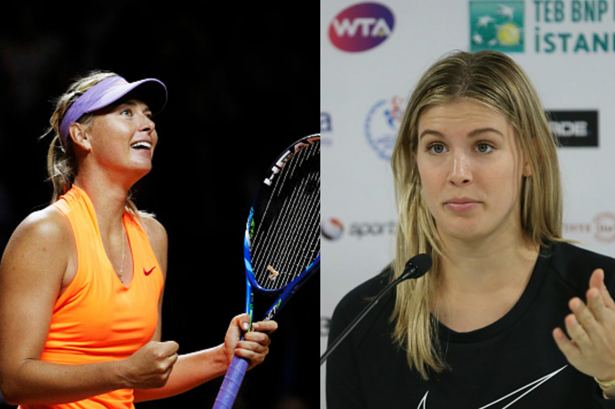 Eugenie Bouchard Wants Life Ban for 'Cheater' Maria Sharapova