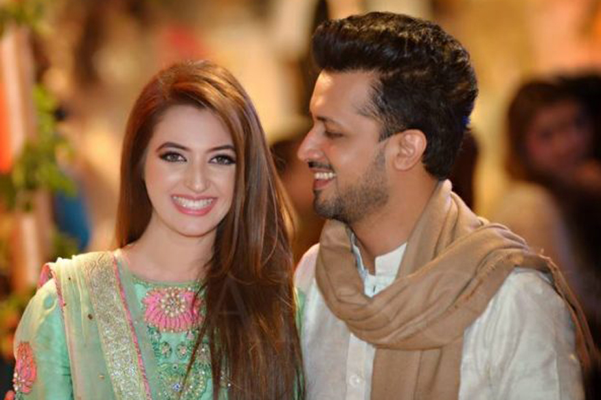 Sara Bharvana Beautiful Wife Atif Aslam