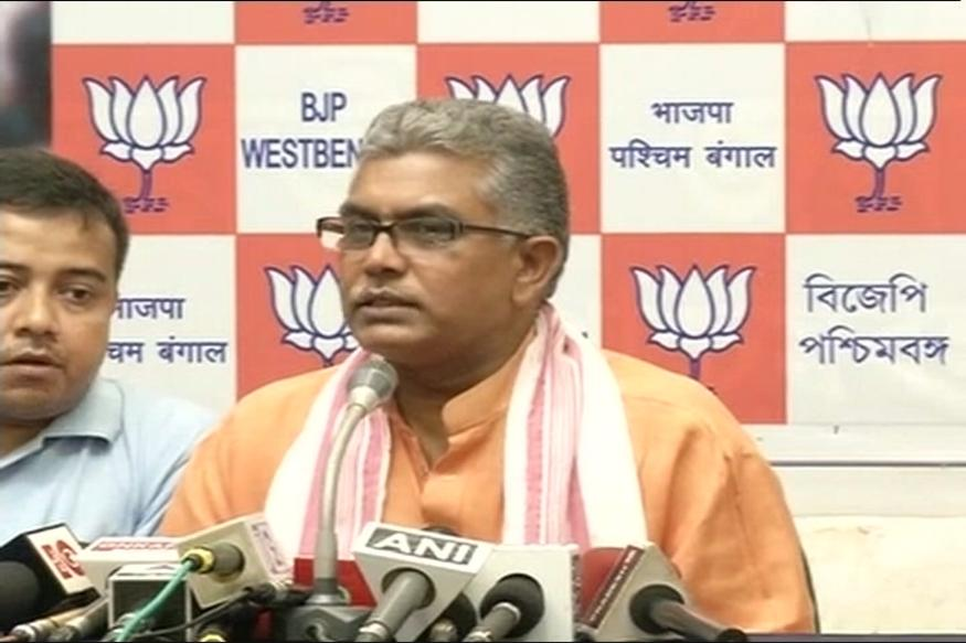 Congress Attacks Bengal BJP Chief Dilip Ghosh For Slogan Remarks