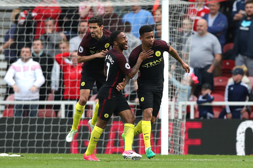 Jesus Header Gives Manchester City 2-2 Draw at Middlesbrough