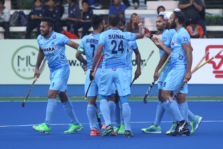 Asia Cup Hockey 2017: Strikers Shine as India Crush Pak 4-0 to Enter Final