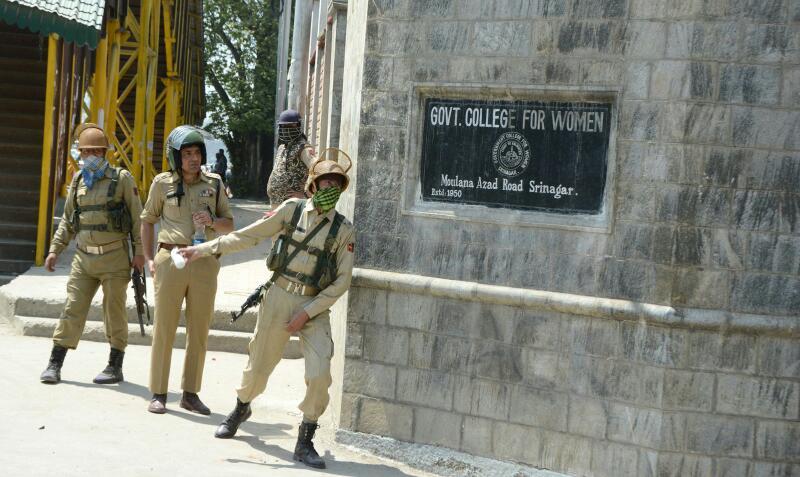 police kashmir