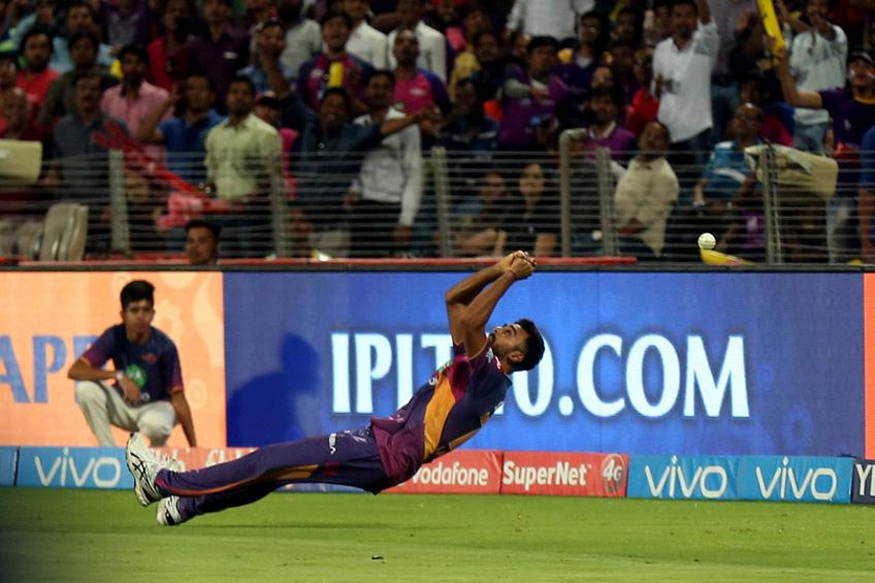 IPL 2017: RPS vs KKR - Turning Point - Unadkat Drops Uthappa