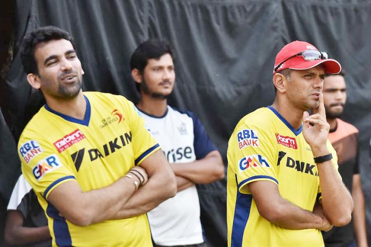 Coach Dravid, Skipper Zaheer Spend Time Inspecting Eden Gardens Pitch