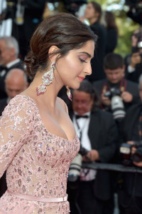 Sonam Kapoor attends the 'The Meyerowitz Stories' screening during the 70th annual Cannes Film Festival at Palais des Festivals on May 21, 2017 in Cannes, France. (Image: Getty Images)