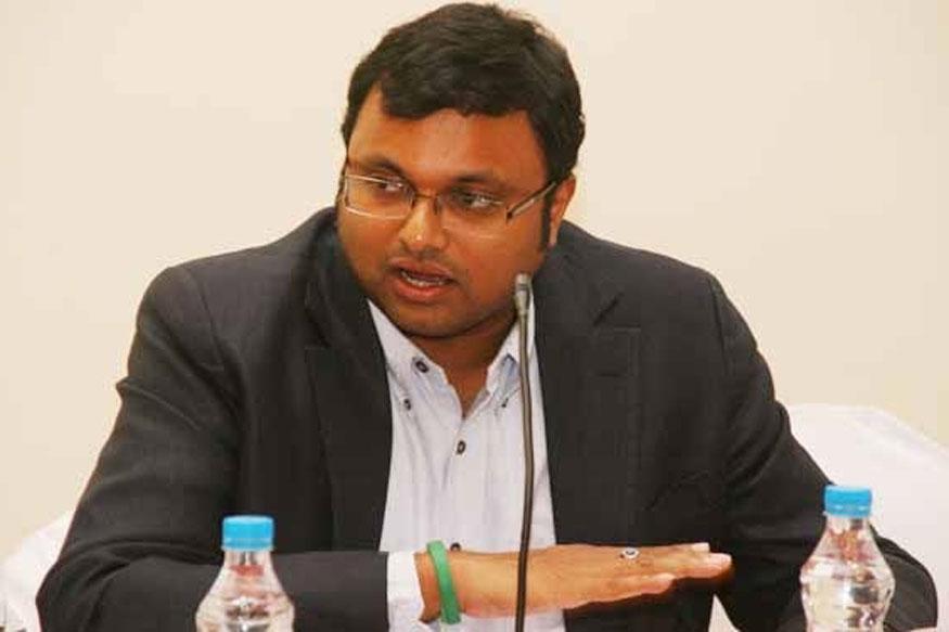 Karti Chidambaram Cries 'Political Vendetta' After CBI Raid at Home