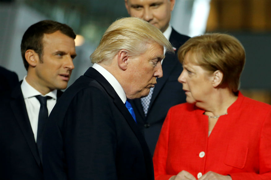 Trump Criticises Germany After Merkel Questioned US Reliability