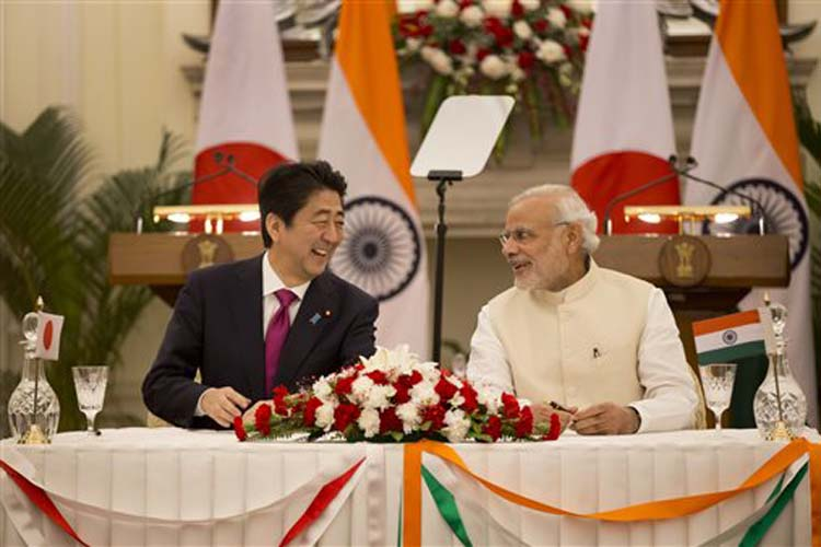 Japan PM Abe Pens Preface for Official Biography of Modi's Mann Ki Baat