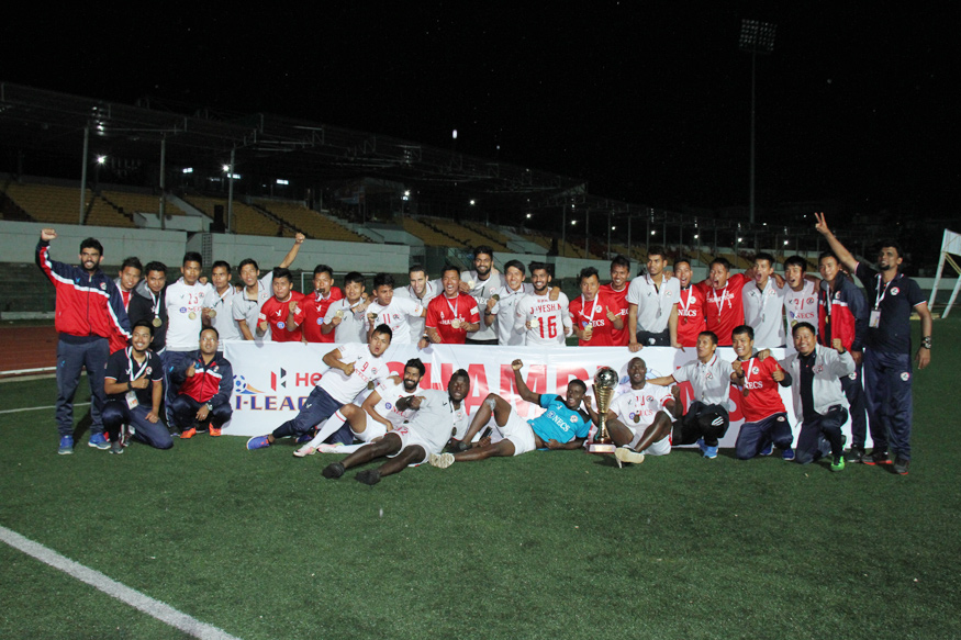Aizawl FC Become First North East Team to Clinch I-league Title
