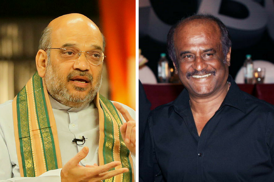 BJP Weak in TN, Rajinikanth More Than Welcome to Join us, Says Amit Shah