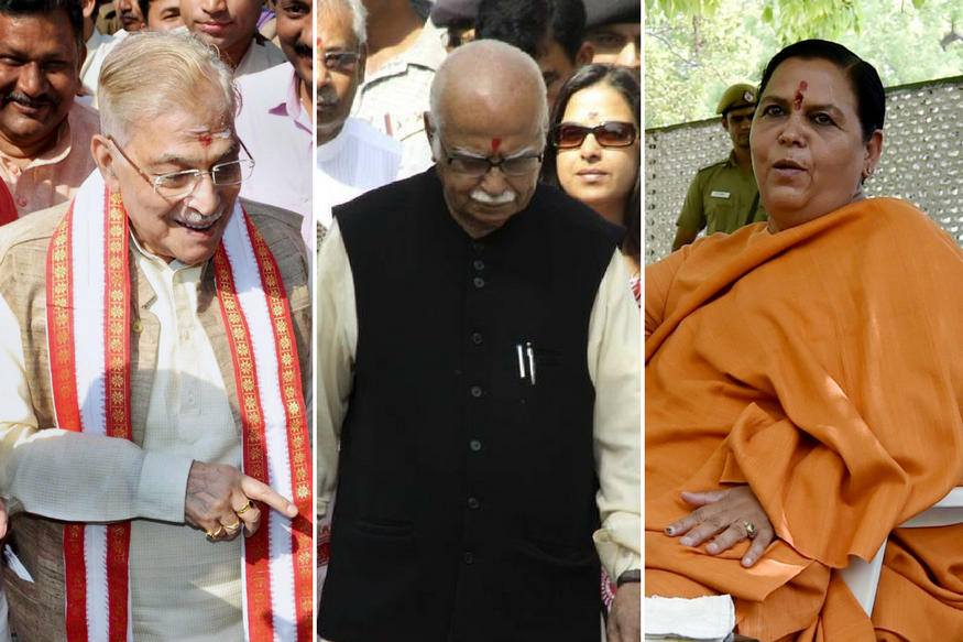 Babri Masjid Demolition Case Live: Advani, Joshi, Uma Bharti Charged With Criminal Conspiracy