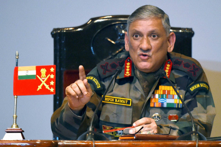 Fire Weapons at Us Instead: Army Chief Dares Stone-pelters of Kashmir