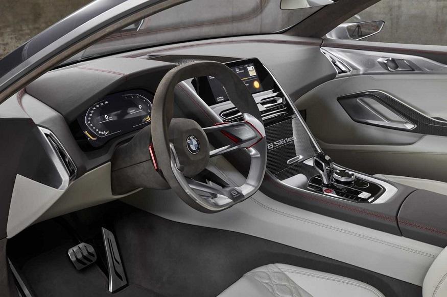 BMW 8-Series Concept Interior. (Photo: BMW)