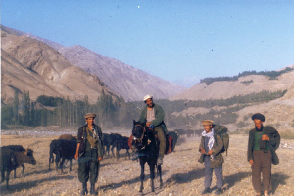 dad on horse ,badakhshan,86