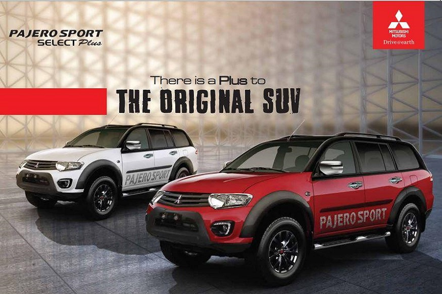 mitsubishi pajero sport select plus variant launched