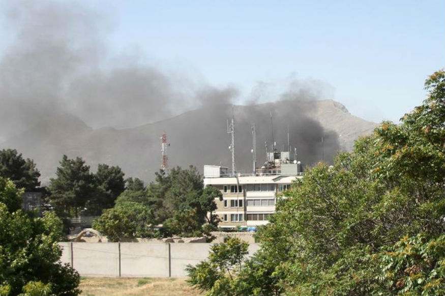 Rocket Lands in Indian Embassy in Kabul