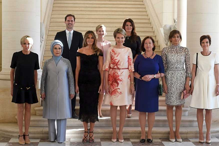 White House Photo Caption Omits Husband of Luxembourg's Gay PM