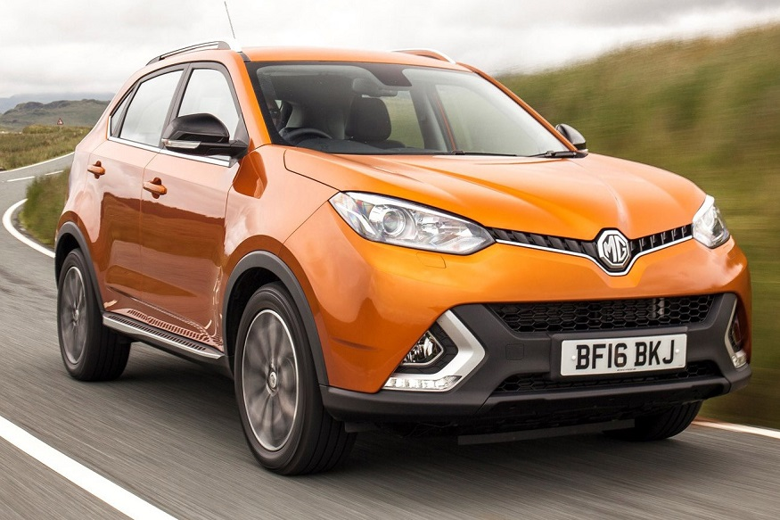 MG GS is the compact SUV offering from MG Cars. (Image: MG UK)