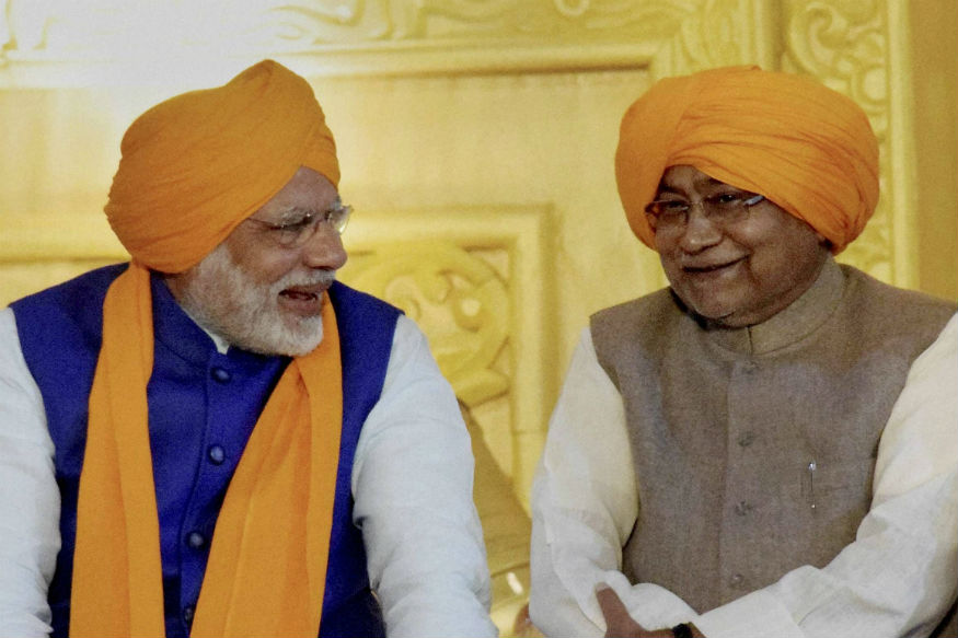 Day After Missing Sonia Meet on President Pick, Nitish to Lunch With PM Modi Today