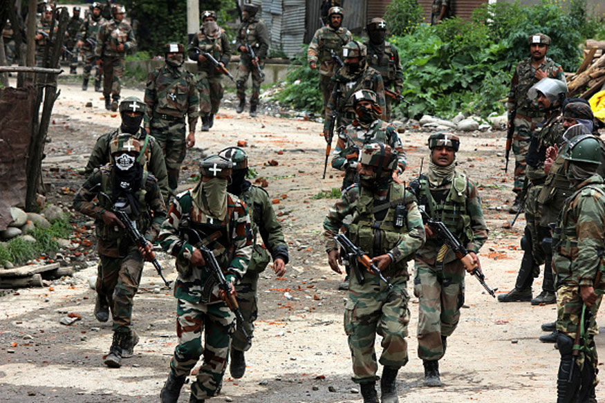 Terrorists Who Killed CRPF Jawan Holed up Inside DPS Srinagar, Gunbattle On