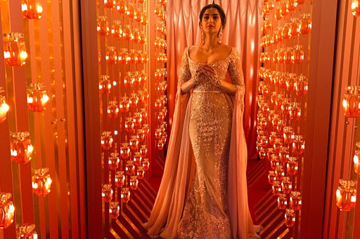 Image result for Sonam Kapoor In an Elie Saab Gown Is The Cannes Royalty We've Been Waiting For