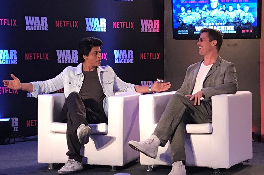 Brad Pitt Says I Can't be a Bollywood Star, SRK Replies 'We'll Make You Dance'