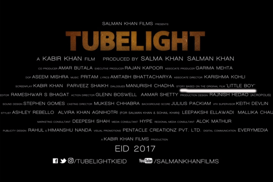 Salman Khan-starrer 'Tubelight' explodes internet with teaser