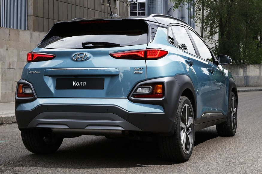 hyundai kona urban suv unveiled gets a special iron man edition news18. Black Bedroom Furniture Sets. Home Design Ideas